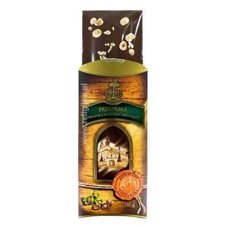 Czekolada mleczna przeorska z orzechami - leśniowska