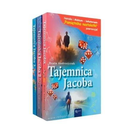 Tajemnica Jacoba (cz. 1-3) - Pamiętnik nastolatki - Beata Andrzejczuk : Książka