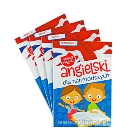 Angielski dla najmłodszych. Zestaw 4 zeszytów - Dla dzieci