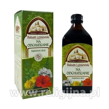 Balsam leśniowski na odchudzanie z arcydzięglem, 250 ml