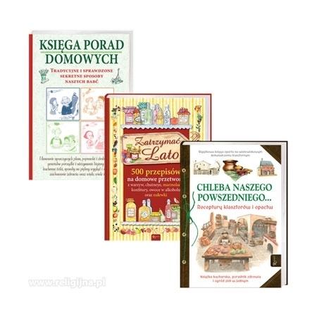 Domowa półka. Pakiet 3 książek przydatnych w domu