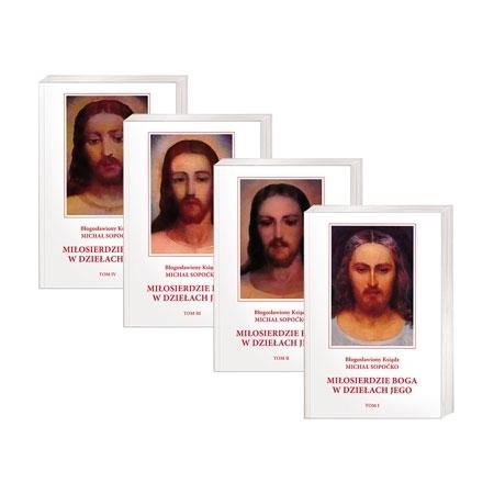 Miłosierdzie Boga w dziełach Jego. Tom I-IV - Ks. Michał Sopoćko : Książka