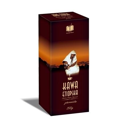 Kawa etiopska Arabica Djimmah, 250 g - ziarnista