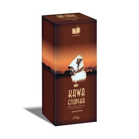 Kawa etiopska Arabica Djimmah, 250 g - mielona