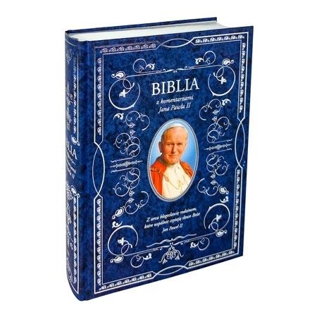 Pismo Święte Starego i Nowego Testamentu z komentarzami Jana Pawła II. Wydanie specjalne : Książka