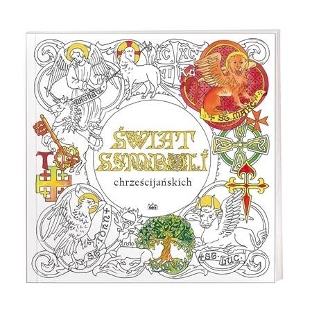 Świat Świat symboli chrześcijańskich.  Kolorowanka dla dzieci i dorosłychsymboli chrześcijańskich