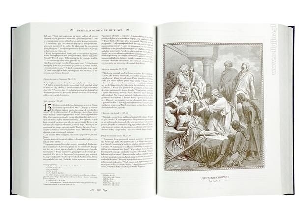 Uleczenie chorych - Ilustracje Gustave'a Dore : Pismo Święte Starego i Nowego Testamentu z komentarzami Jana Pawła II. Wydanie specjalne