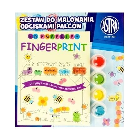 Fingerprint. Malujemy obrazki odciskami palców