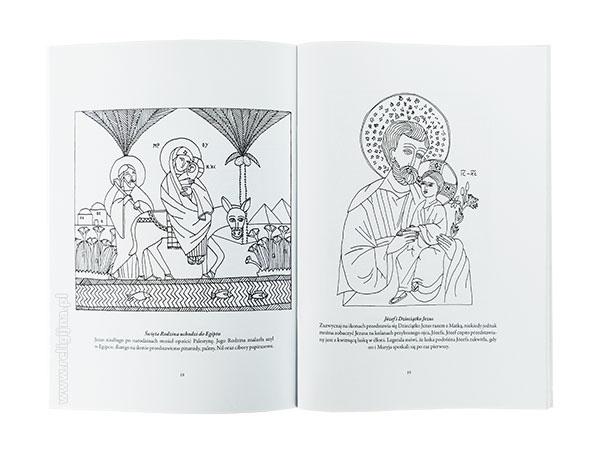 Ikony. Kolorowanki dla modlitwy i odpoczynku - zawartość