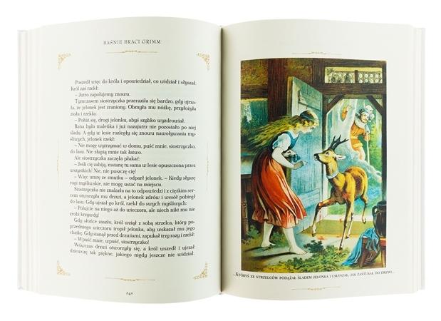 Baśnie Braci Grimm : Książka