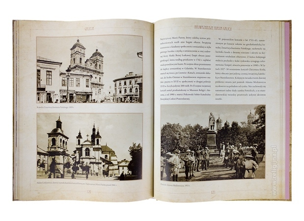 Galicja. Od Krakowa po Lwów : Album