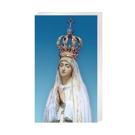 Matka Boża Fatimska - Obrazek kolędowy - OB46