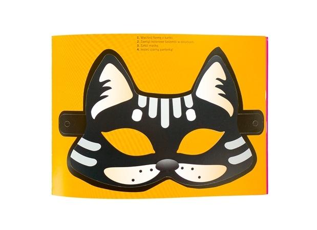 Maski karnawałowe. Ozdoby świąteczne. Wypychanki : Książka