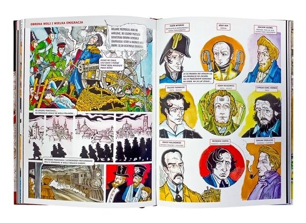 Historia Polski w komiksie - Paweł Kołodziejski, Bogusław Michalec : Książka