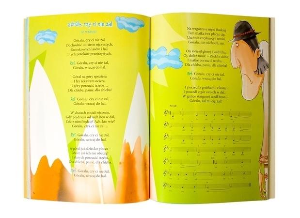 Ulubione piosenki z dzieciństwa. Płyta CD gratis - tekst z nutami