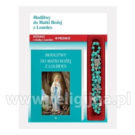 Modlitwy do Matki Bożej z Lourdes. Modlitewnik z różańcem w etui