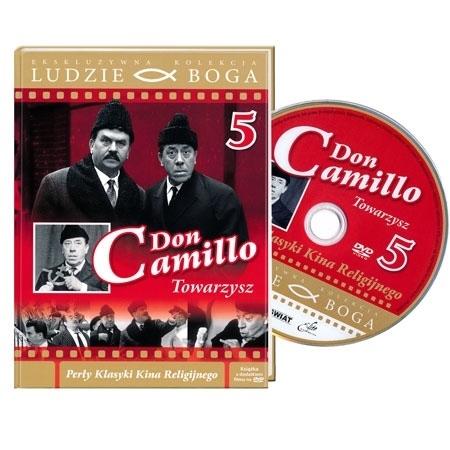 Don Camillo 5. Towarzysz. Film DVD