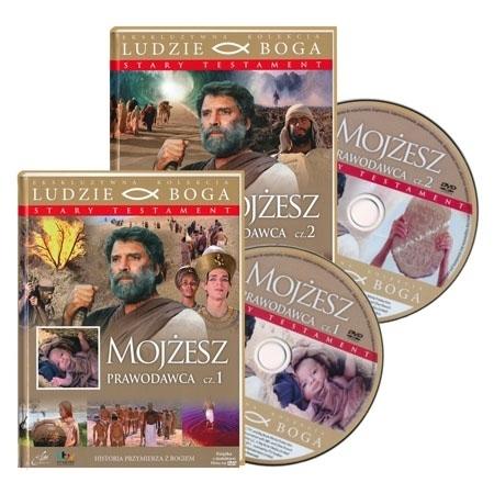 Mojżesz Prawodawca. Film DVD - Seria: Ludzie Boga