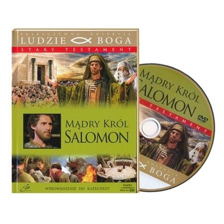 Mądry król Salomon. Książka z filmem DVD : Multimedia