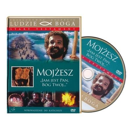 Mojżesz. Książka z filmem DVD