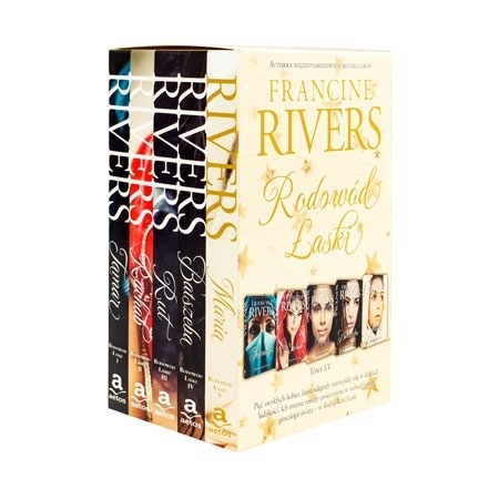 Pakiet - Rodowód łaski. Kpl 5 książek - Francine Rivers : Książka