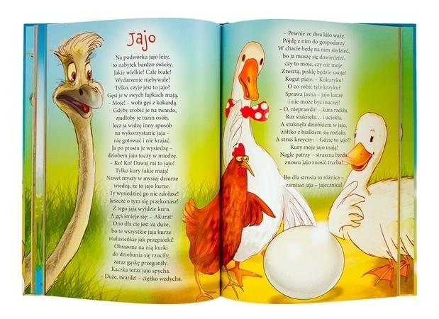 Rymowanki rozbawianki dla dzieci + płyta CD -  bajka pt. Jajo