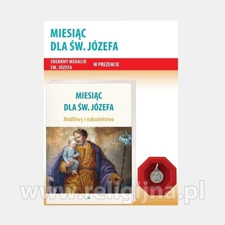 Miesiąc dla św. Józefa. Modlitwy i nabożeństwa : Modlitewnik z medalikiem