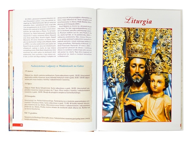 Święty Józef. Album - Liturgia