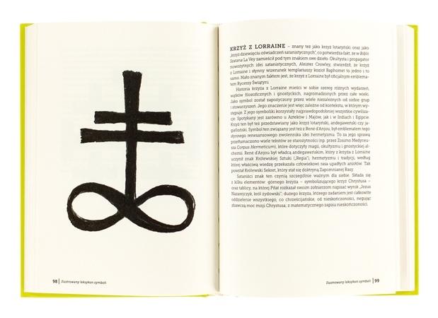 Ilustrowany leksykon symboli - Krzyż z Lorraine