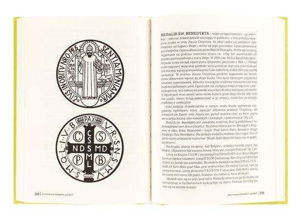 Ilustrowany leksykon symboli - Medalik św. Benedykta