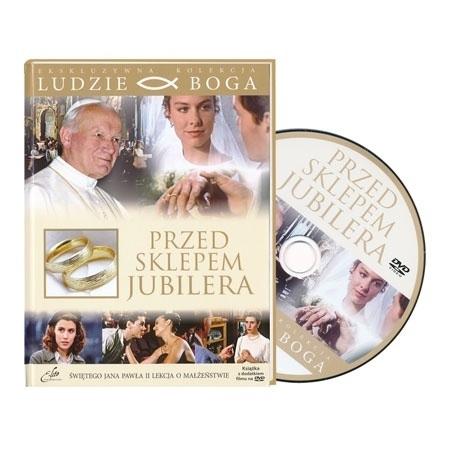Przed sklepem jubilera. Film DVD