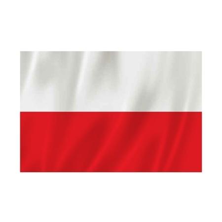 Flaga polski - Rozmiar: 70 x 110 cm