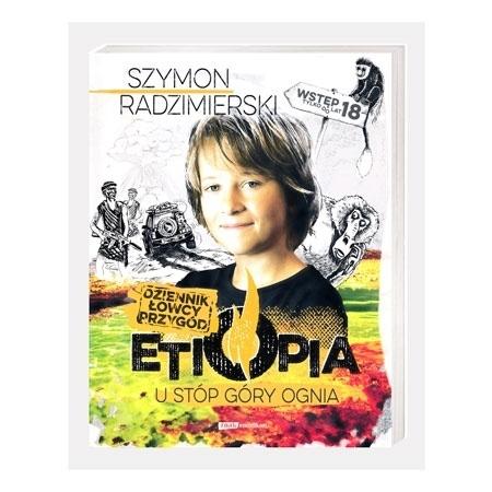 Dziennik łowcy przygód. Etiopia u stóp góry ognia - Szymon Radzimierski : Książka