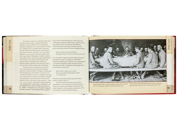 Niepodległa. Legiony Piłsudskiego 1918 - zawartość