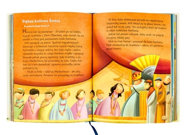 Piękna królowa Estera - Jezus mówi do dzieci. Opowieści biblijne. Pamiątka Pierwszej Komunii Świętej - Sarah Young