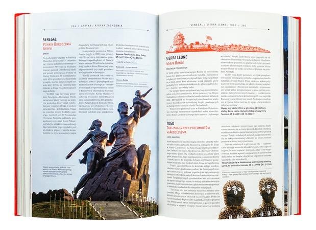 Atlas osobliwości. Przewodnik po ukrytych cudach świata - zawartość