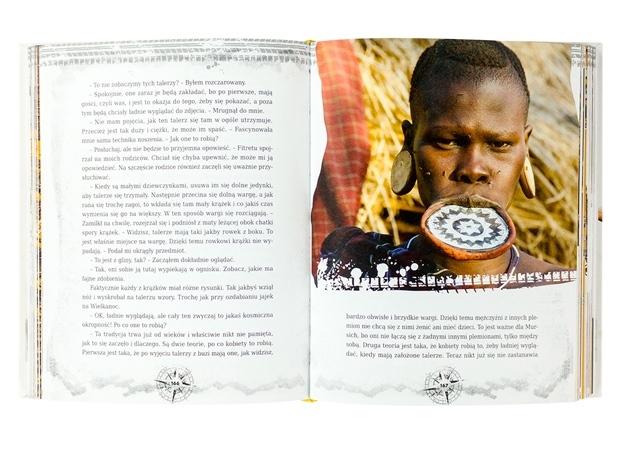 Dziennik łowcy przygód. Etiopia u stóp góry ognia - zawartość