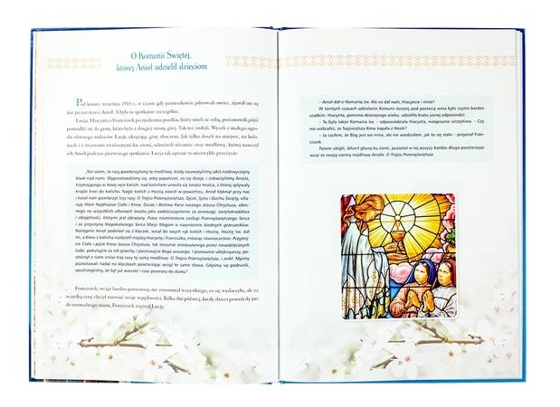 Pamiątka Pierwszej Komunii Świętej z Matką Bożą Fatimską - zawartość