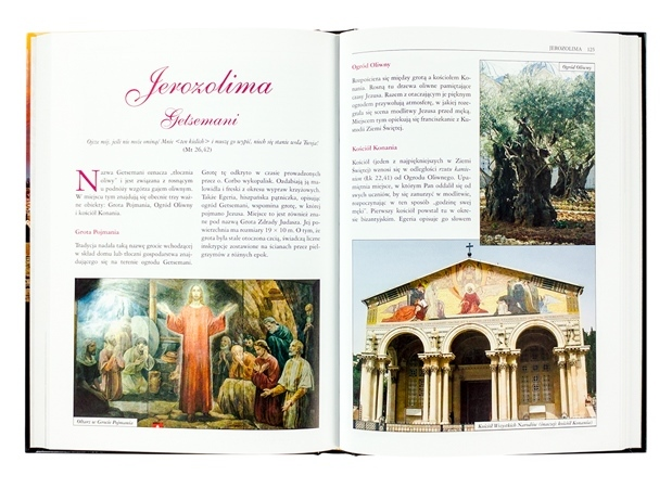 Ziemia Święta. Pielgrzymując śladami Jezusa -zawartość