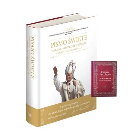 Pismo Święte Starego i Nowego Testamentu z komentarzami - Księga Psalmów w prezencie