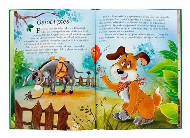 Osioł i pies - Bajki z morałem. Opowieści Ezopa