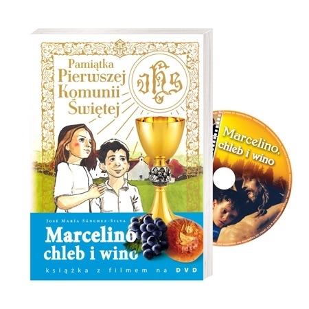 Marcelino chleb i wino. Pamiątka Pierwszej Komunii Świętej. Książka z filmem DVD