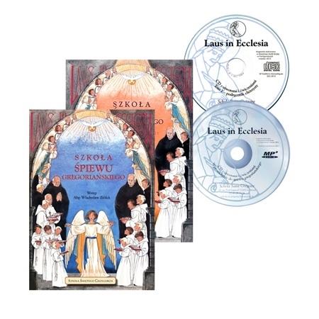 Szkoła śpiewu gregoriańskiego, cz. 1 i 2 (z CD)