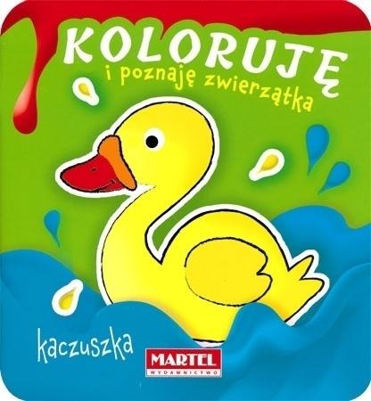 Kaczuszka - Koloruję i poznaję zwierzątka