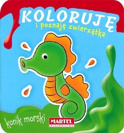 Konik morski - Koloruję i poznaję zwierzątka