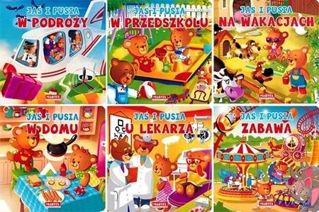 Jaś i Pusia - seria kartonowych książeczek