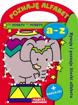 Poznaję alfabet a-z. Książeczka z naklejkami dla dzieci