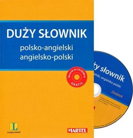 Duży słownik polsko-angielski i angielsko-polski z płytą CD