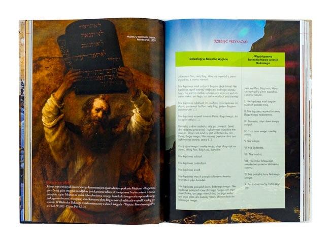Mojżesz z Tablicami Przykazań - Tajemnice Starego Testamentu. Album