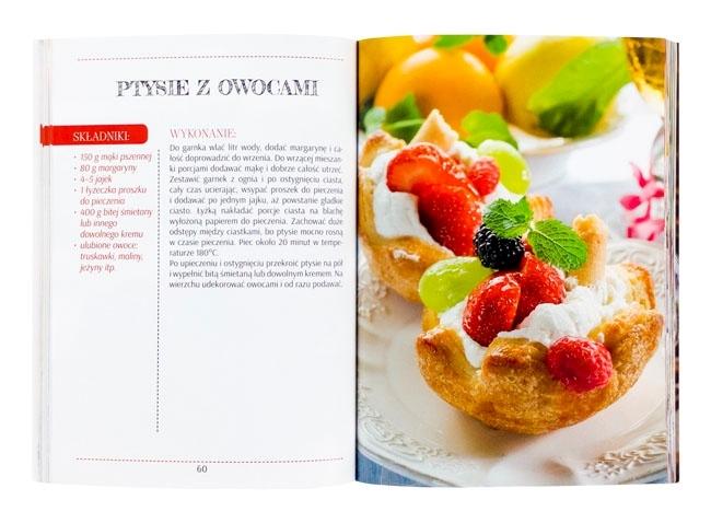 Ptysie z owocami - Desery i dania na słodko. Kuchenne inspiracje siostry Marii